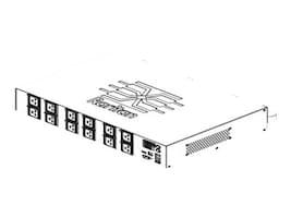 Raritan PDU 17.3kVA 208V 48A 3-ph 2U IEC60309 (12) C19, PX2-5325R, 15254855, Power Distribution Units