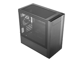 Cooler Master Chassis, MasterBox NR400 Tower 4xExpansion slots 4x3.5 bays 4x2.5 SSD bays, MCB-NR400-KG5N-S00, 36725311, Cases - Systems/Servers