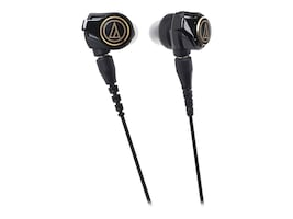 Audio-Technica SolidBass In-Ear Headphones, ATH-CKS1100IS, 34040043, Headsets (w/ microphone)