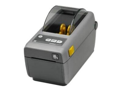Zebra ZD410 DT 2 203dpi USB Host BTLE Ethernet EZPL Printer w  US Cord & USB Cable, ZD41022-D01E00EZ, 31537601, Printers - Label