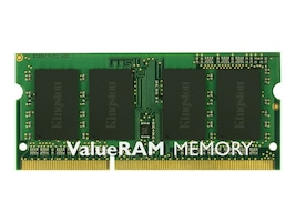 Kingston 4GB PC3-12800 204-pin DDR3 SDRAM SODIMM for Select Models, KVR16LS11/4, 15694201, Memory