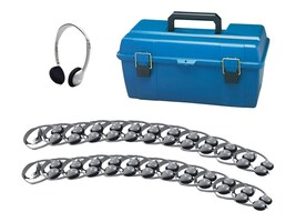 Hamilton Lab Pack, (24) HA2 Personal Headphones in a Carry Case, LCP24HA2, 13895632, Headphones