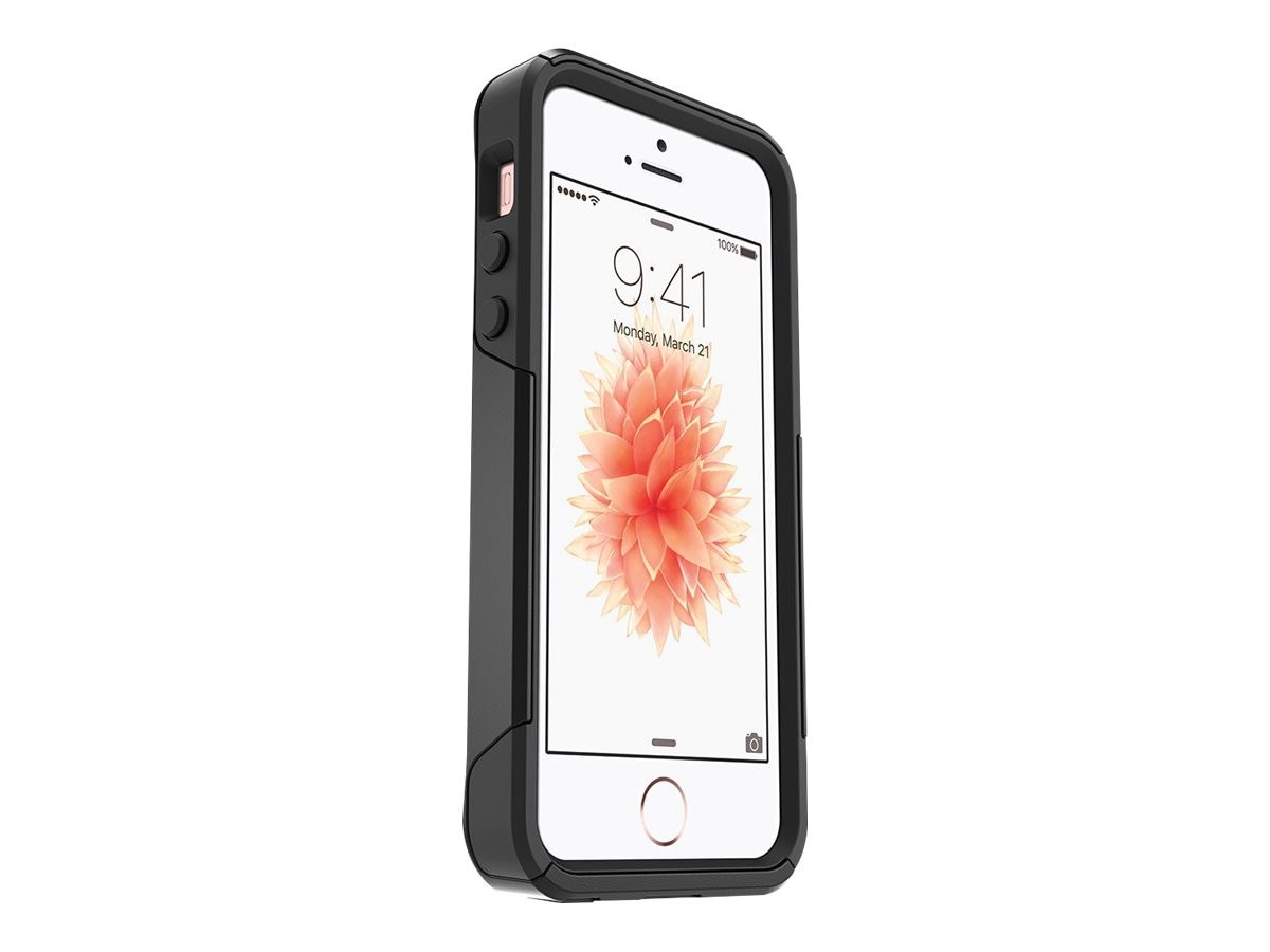 size 40 18f8c 51ab0 OtterBox Commuter for iPhone 5 5S SE, Pro Pack, Black