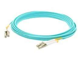 ACP-EP LC-LC 50 125 OM3 LSZH LOMM Duplex Fiber Cable, Aqua, 5m, ADD-LC-LC-5M5OM3, 32067015, Cables