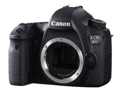 Canon EOS 6D Digital SLR Camera, 20.2MP (Body Only), 8035B002, 14777304, Cameras - Digital