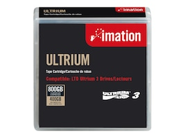 Imation 400 800GB LTO Ultrium LTO-3 Cartridge, 17532, 5458758, Tape Drive Cartridges & Accessories