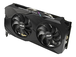 Asus DUAL-GTX1660S-O6G-EVO Main Image from Right-angle