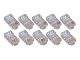 4Xem CAT6 Modular Plug for Stranded or Solid Cable, 1000-Pack, 4X1000PKC6, 34198019, Cable Accessories