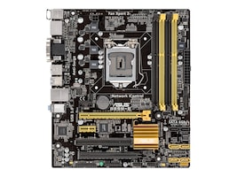 Asus B85M-E Main Image from Front