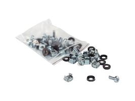 Intellinet 20-Piece M6 Cage Nut Screw Washer Kit, 712194, 35155547, Tools & Hardware
