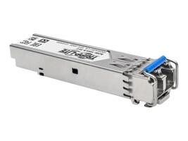 Tripp Lite HPE J4859C Compatible 1000Base-LX LC SFP Transceiver, DDM, Singlemode, 1310 nm, 10 km, N286-01GLX-SLX, 33675611, Network Transceivers