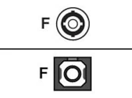 Black Box Fiber Optic Adapter - ST-SC, Single-Mode, Simplex, Ceramic Sleeve, Rectangular Mount, FOT113, 34467805, Network Adapters & NICs