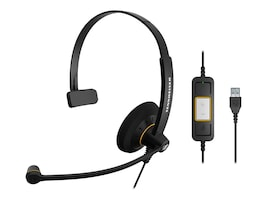 Sennheiser SC 30 USB ML Monaural Headset, 504546, 16161319, Headsets (w/ microphone)