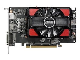 Asus AMD Radeon RX 550 Graphics Card, 4GB GDDR5, RX550-4G, 34000041, Graphics/Video Accelerators