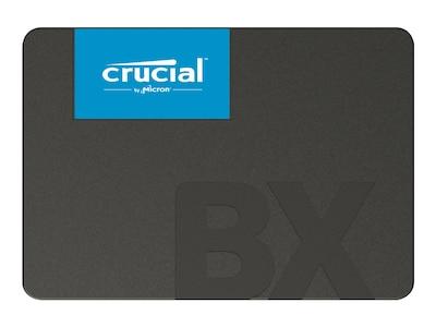 Crucial 240GB BX500 SATA 6Gb s 3D NAND 2.5 7mm Internal Solid State Drive, CT240BX500SSD1, 36025779, Solid State Drives - Internal