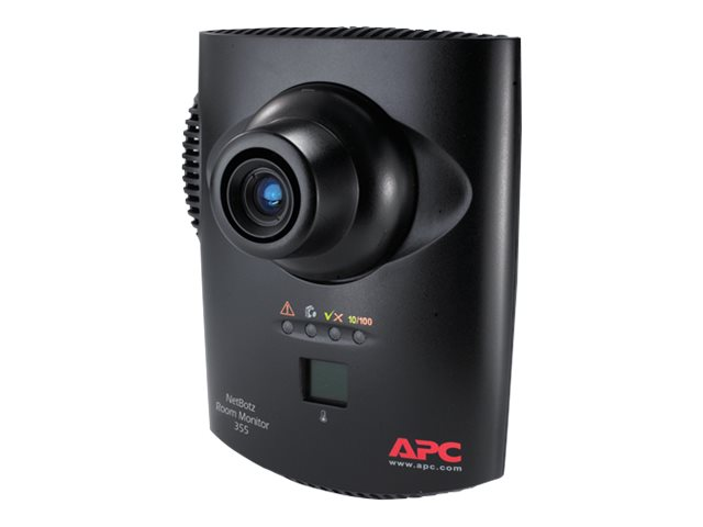 APC NetBotz Room Monitor 355 without PoE Injector, NBWL0355, 9882193, Security Hardware
