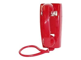 Viking K-1900W-2 HotLine Phone, K-1900W-2-RED, 33868682, Telephones - Business Class