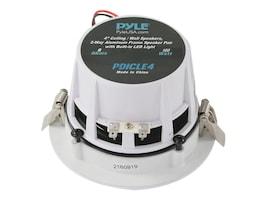 Pyle 4 Ceiling Wall 2-Way Speaker Pair w  Built-In LED Light, PDICLE4, 33114362, Speakers - Audio