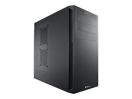 Corsair Chassis, Carbide 200R MT 4x2.5 Bays 4x3.5 Bays 3x5.25 Bays 7xExpansion Slots, CC-9011023-WW, 15002631, Cases - Systems/Servers