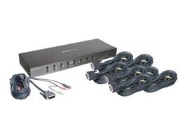 IOGEAR 8-Port DVI KVMP Kit Dual Link DVI w  Cabling, GCS1208KIT1, 15568900, KVM Switches