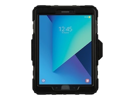 Griffin Survivor Case for Samsung Galaxy Tab S3, Black Clear, GB43574, 34731442, Carrying Cases - Tablets & eReaders