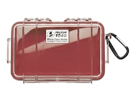 Pelican 1300 CASE ORANGE WITH FOAM     CASECLEAR LID RED INTERIOR, 1040-028-100, 36792636, Carrying Cases - Other