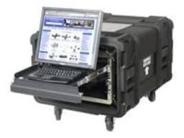 Innovation First 8U Racl Shock Transportable 4-Post Case 29d, RACK-TRANSPORT-30-8, 33177187, Racks & Cabinets
