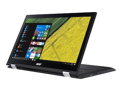 Acer Spin 3 315-51-73UG Core i7-7500U 2.7GHz 8GB 1TB+128GB SSD ac BT WC 4C 15.6 FHD MT W10H64, NX.GK9AA.014, 33117951, Notebooks - Convertible