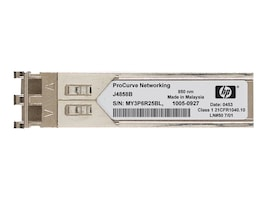 HPE X120 1000Base-SX SFP LC Transceiver, JD118B, 11490949, Network Transceivers