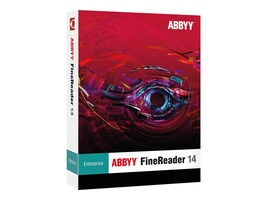 ABBYY FineReader 14.0 Enterprise Full Version DVD Box, FREFW14B, 33641357, Software - OCR & Scanner