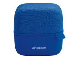 Verbatim Wireless Cube Bluetooth Speakers - Blue, 70226, 36818584, Speakers - Audio