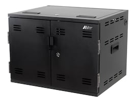 Aver Information 12-Unit X12 Charging Cabinet, CHRGEX012, 35719154, Charging Stations