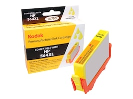 Kodak CN687WN Yellow Ink Cartridge for HP, CN687WN-KD, 31286515, Ink Cartridges & Ink Refill Kits - Third Party