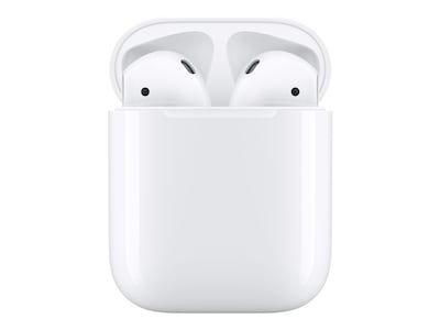 Apple AirPods, MMEF2AM/A, 33418219, Headsets (w/ microphone)