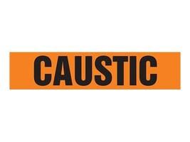 Panduit Self Stick Pipe Marker, Caustic, Orange, Size D, PPMA1083D, 36040477, Tools & Hardware