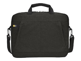 Case Logic Huxton 14 Laptop Attache, Black, 3203127, 30639948, Carrying Cases - Notebook