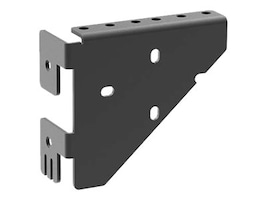 C2G 2RU Rear Horizontal Mounting Bracket for Swing-Out Wall Mount Cabinet, SWMHMBM12, 35130243, Rack Mount Accessories