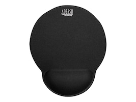 Adesso Tru-Form High-Density Memory Foam Mouse Pad w  Wrist Rest, Black, TRUFORM P200, 35125524, Ergonomic Products