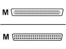 Belkin SCSI Cable Ultra Cent DB68 male to Micro DB50 male, 12ft (F2N1065-12), F2N1065-12, 247737, Cables