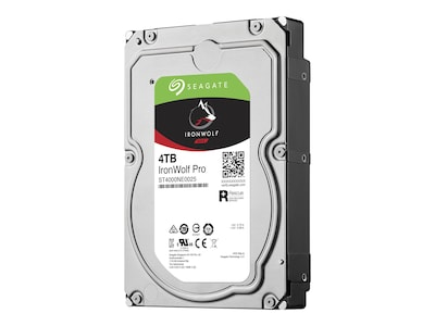Seagate 4TB IronWolf Pro NAS SATA 6Gb s 3.5 Internal Hard Drive, ST4000NE0025, 35539612, Hard Drives - Internal