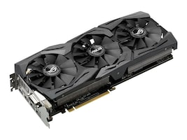 Asus STRIX-GTX1060-O6G-GAMING Main Image from Left-angle
