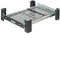 Innovation First Heavy Duty Sliding Rack Mount Shelf, 2USHL-130, 8120664, Rack Mount Accessories