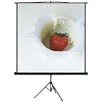 Mustang AV Projection Screen with Tripod, Matte White. 4:3, 80in, SC-T80D43, 8125844, Projector Screens