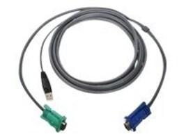 IOGEAR USB KVM Cable, 10ft, G2L5203U, 9208916, Cables