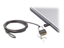 Belkin Notebook Security Lock, Master-keyed, F8E550-CMK, 6713554, Security Hardware