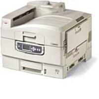 Oki C9650DN Color LED Printer w  Cabinet & Tray, 91665103, 12817763, Printers - Laser & LED (color)