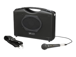 AmpliVox Portable Buddy PA w  Handheld Microphone, S222A, 35984003, Public Address (PA) Systems