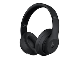 Apple Beats Studio3 Wireless Over-Ear Headphones - Matte Black, MX3X2LL/A, 38192298, Headsets (w/ microphone)