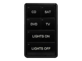 AMX MIO-CLASSIC-S, MIO MODERO KEYPAD CLASSIC SERIES S - BLACK, FG5795-01BL, 37541311, Audio/Video Conference Hardware