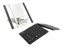 Keyovation Goldtouch Go 2 Bluetooth Keyboard, Graphite, GTLS-0099W, 16850309, Keyboards & Keypads